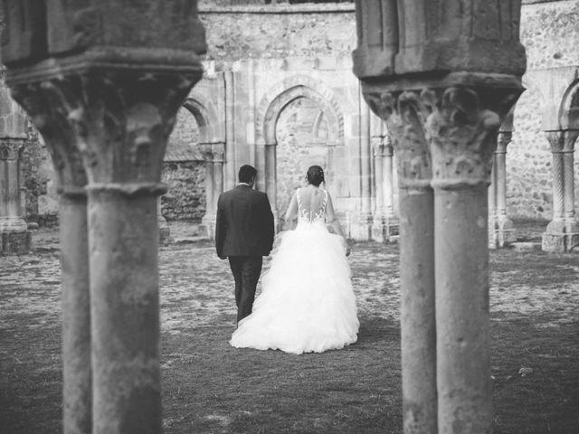 La boda de Óscar y Vanessa en Villalvaro, Soria 48