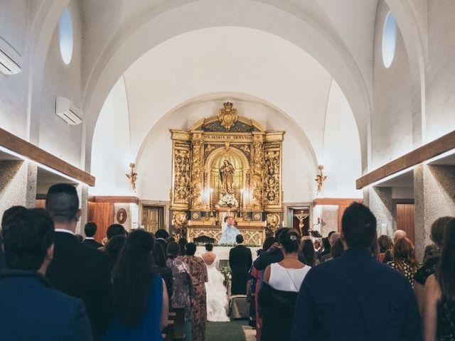 La boda de Sebastián y Casilda en San Lorenzo De El Escorial, Madrid 10