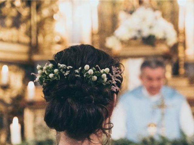 La boda de Sebastián y Casilda en San Lorenzo De El Escorial, Madrid 11