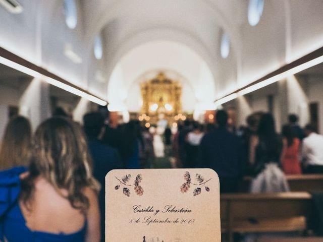 La boda de Sebastián y Casilda en San Lorenzo De El Escorial, Madrid 12