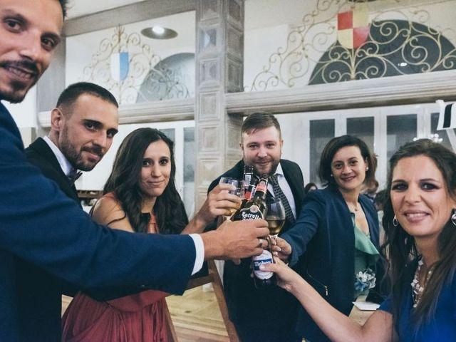 La boda de Sebastián y Casilda en San Lorenzo De El Escorial, Madrid 16