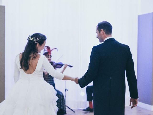 La boda de Sebastián y Casilda en San Lorenzo De El Escorial, Madrid 23