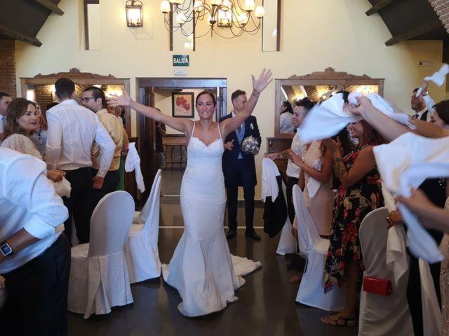 La boda de Jordi y Ana belen en La Calahorra, Granada 1