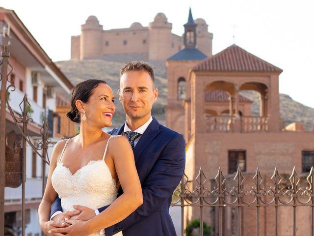 La boda de Jordi y Ana belen en La Calahorra, Granada 19