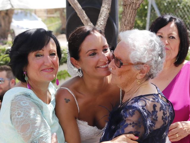 La boda de Jordi y Ana belen en La Calahorra, Granada 28