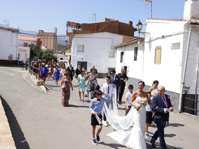 La boda de Jordi y Ana belen en La Calahorra, Granada 30