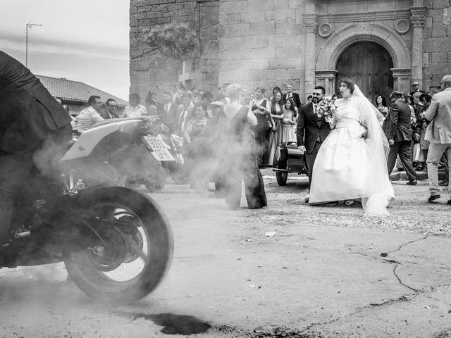 La boda de Ángela y Miguel en Cantalpino, Salamanca 14