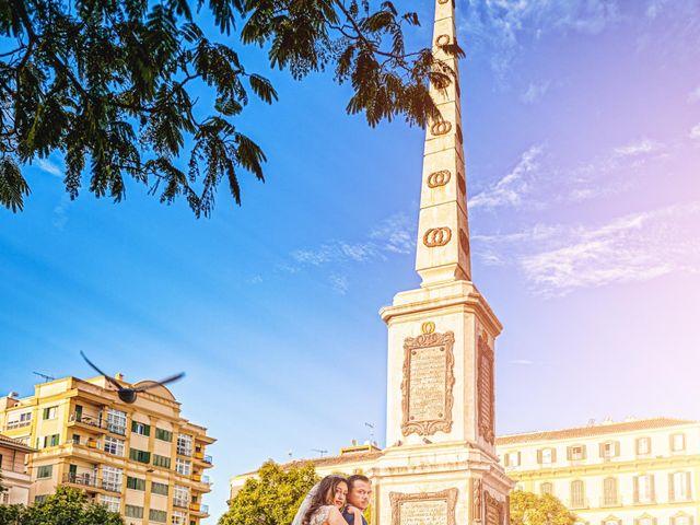 La boda de Natalia y Dani en Benajarafe, Málaga 13