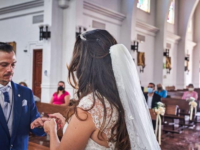 La boda de Natalia y Dani en Benajarafe, Málaga 35