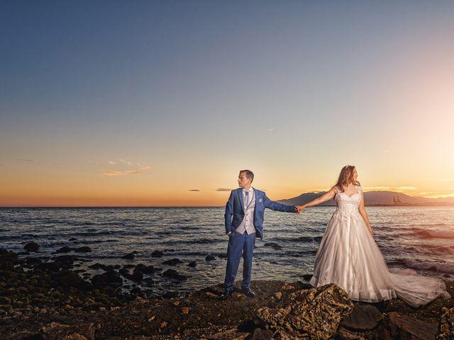 La boda de Natalia y Dani en Benajarafe, Málaga 2