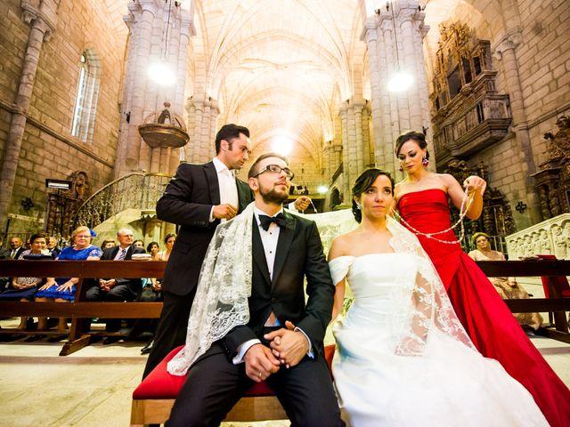 La boda de Samuel y Karla en Nogueira De Ramuin, Orense 19