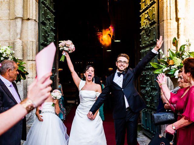 La boda de Samuel y Karla en Nogueira De Ramuin, Orense 22