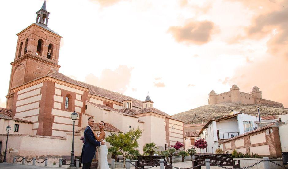 La boda de Jordi y Ana belen en La Calahorra, Granada