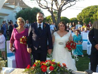 La boda de Rocio  y Santi 2