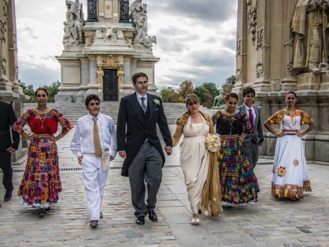La boda de Alfredo y Miriam en Madrid, Madrid 2