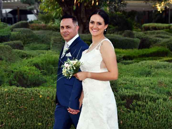 La boda de Poli y José