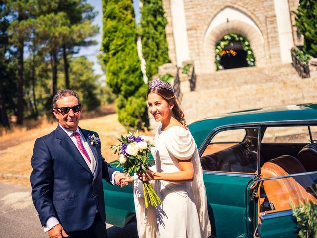 La boda de Erwan y Montse en Ávila, Ávila 35