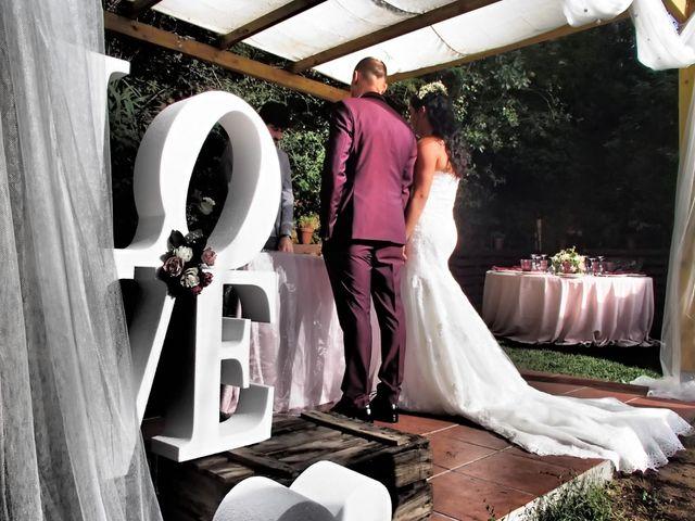 La boda de Karla  y David  en Castellar Del Valles, Barcelona 5