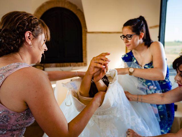 La boda de Juan Pedro y Jessica en Villarrubia De Los Ojos, Ciudad Real 24