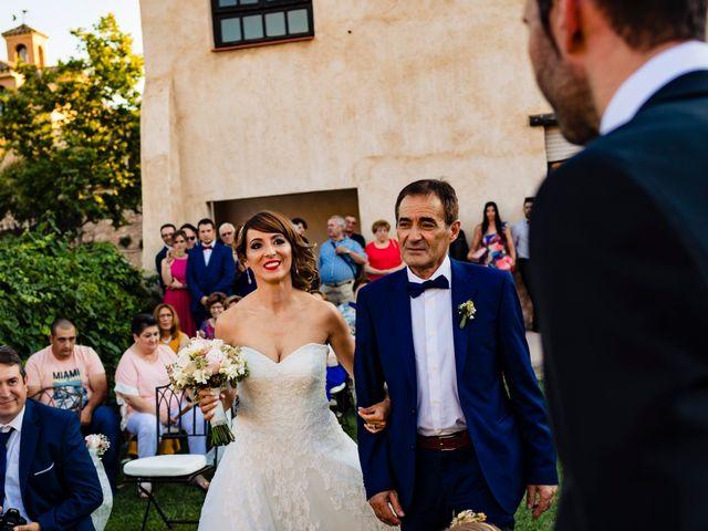 La boda de Juan Pedro y Jessica en Villarrubia De Los Ojos, Ciudad Real 33