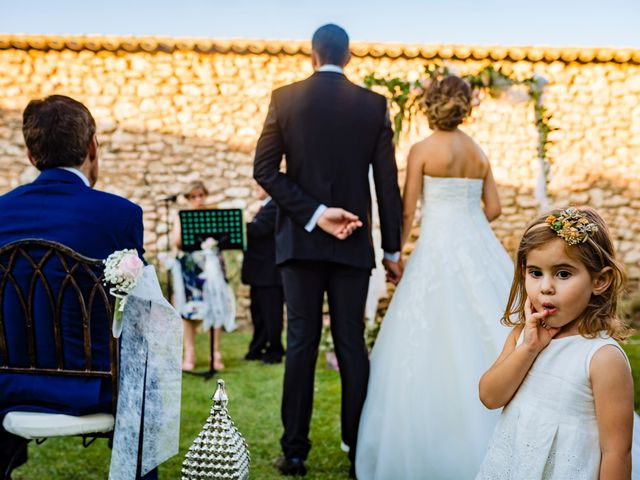 La boda de Juan Pedro y Jessica en Villarrubia De Los Ojos, Ciudad Real 35