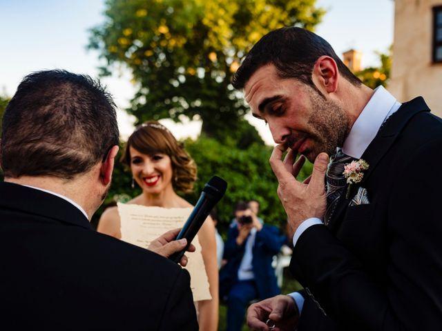 La boda de Juan Pedro y Jessica en Villarrubia De Los Ojos, Ciudad Real 40