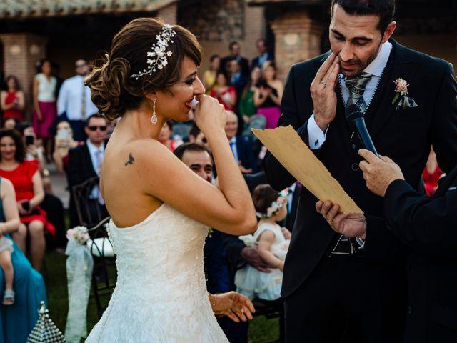La boda de Juan Pedro y Jessica en Villarrubia De Los Ojos, Ciudad Real 41