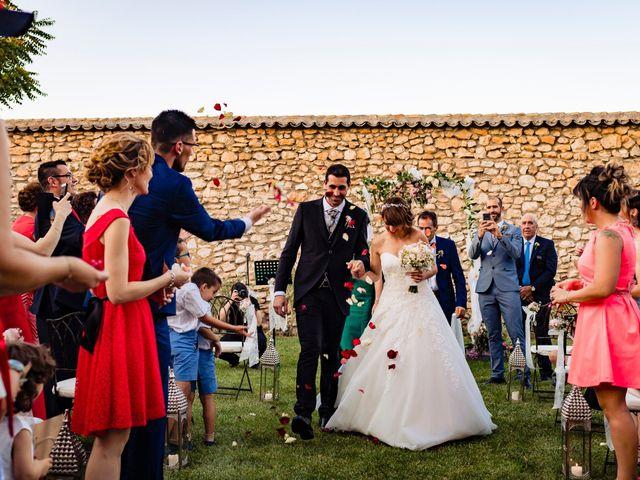 La boda de Juan Pedro y Jessica en Villarrubia De Los Ojos, Ciudad Real 54