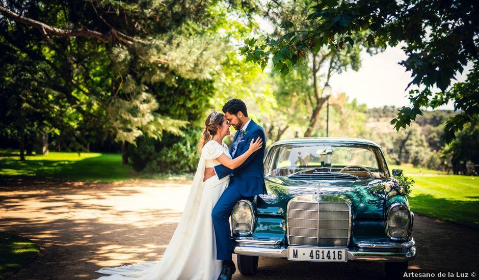 La boda de Erwan y Montse en Ávila, Ávila