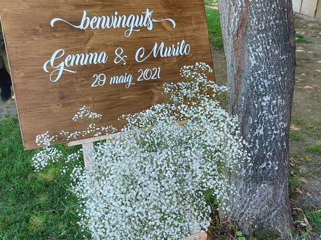 La boda de Gemma bastida  y Murilo de souza  en Os De Balaguer, Lleida 1