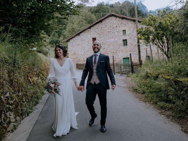 La boda de Mikel y Nerea en Atxondo, Vizcaya 68