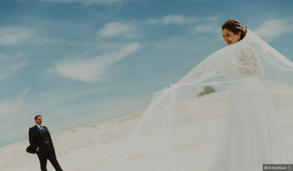 La boda de Alberto y Ana en Villarrobledo, Albacete