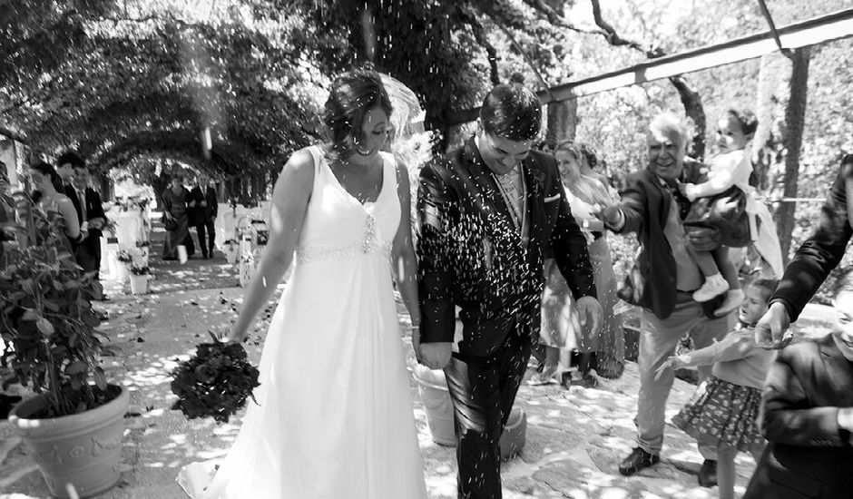 La boda de Yago  y Cristina  en Redondela, Pontevedra