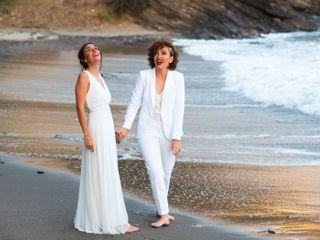 La boda de Cristina y Flor