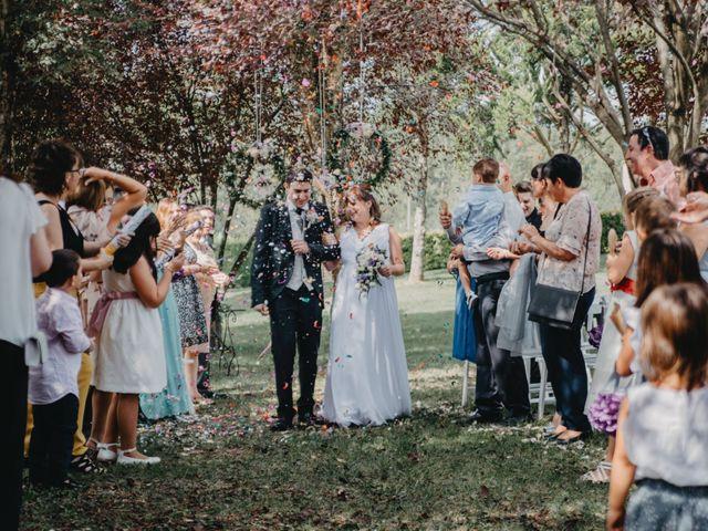 La boda de Dani y Sonia en Sant Gregori (Municipio), Girona 2