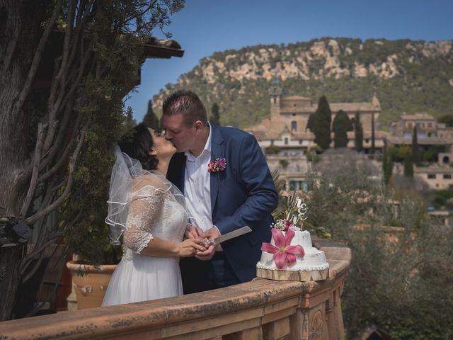 La boda de Jerom y Adriana en Valldemosa, Islas Baleares 17