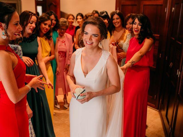 La boda de Miguel y María en Villarrubia De Los Ojos, Ciudad Real 48
