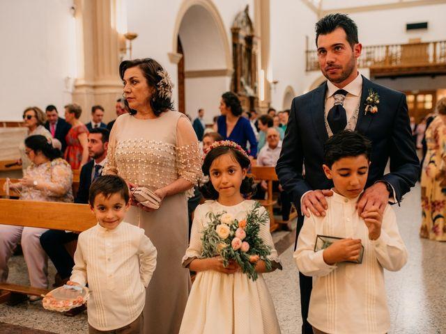 La boda de Miguel y María en Villarrubia De Los Ojos, Ciudad Real 57
