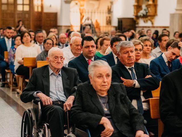 La boda de Miguel y María en Villarrubia De Los Ojos, Ciudad Real 62