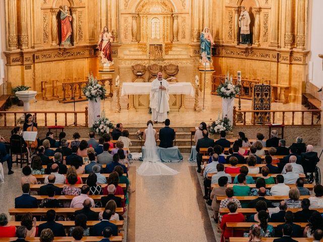 La boda de Miguel y María en Villarrubia De Los Ojos, Ciudad Real 63