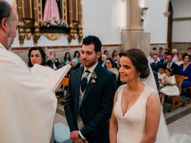 La boda de Miguel y María en Villarrubia De Los Ojos, Ciudad Real 64