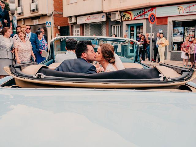 La boda de Miguel y María en Villarrubia De Los Ojos, Ciudad Real 76