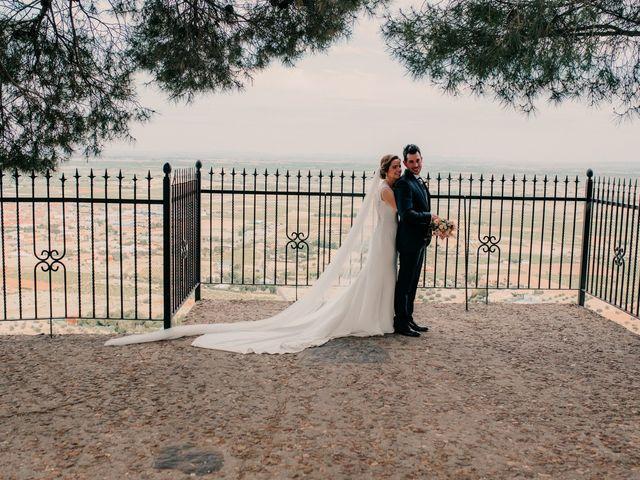 La boda de Miguel y María en Villarrubia De Los Ojos, Ciudad Real 81