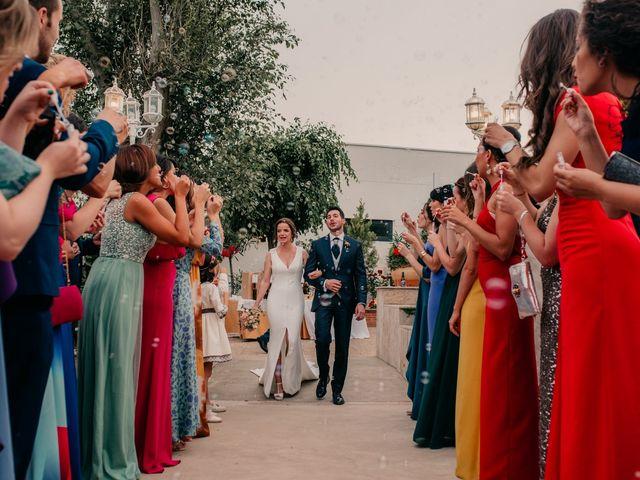 La boda de Miguel y María en Villarrubia De Los Ojos, Ciudad Real 99