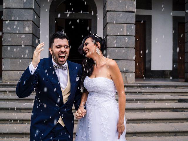 La boda de Airam y Isalupi en Firgas, Las Palmas 11