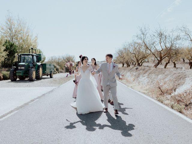 La boda de Daniel y Noelia en Alhama De Granada, Granada 127