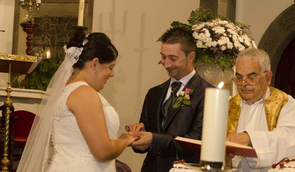 La boda de Anabel y Jonathan en Moya, Las Palmas