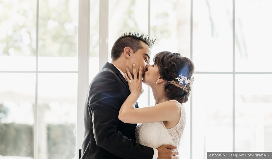 La boda de Rafa y Raquel en Gandia, Valencia