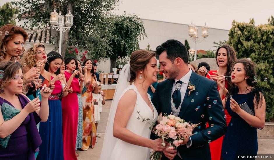 La boda de Miguel y María en Villarrubia De Los Ojos, Ciudad Real