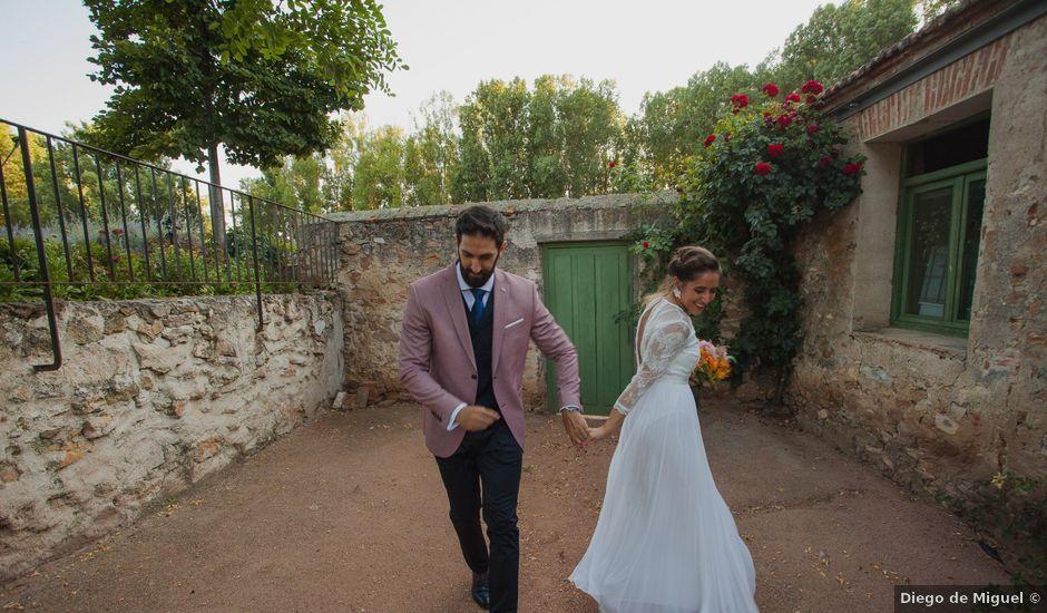 La boda de Jaime y Maria en Hoyuelos, Segovia